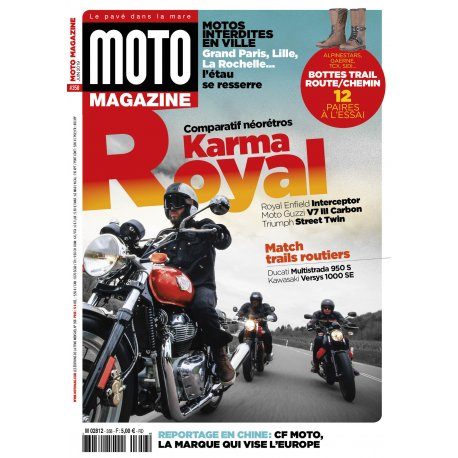Moto Magazine n° 358 - Juin 2019