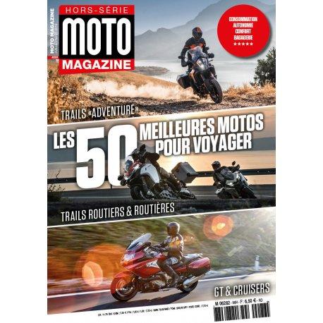 Moto Magazine : Hors-série Les 50 meilleures moto pour voyager 2019