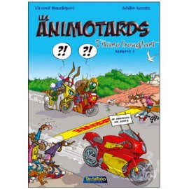 BD avec défaut d'aspect : Animotards tome 1