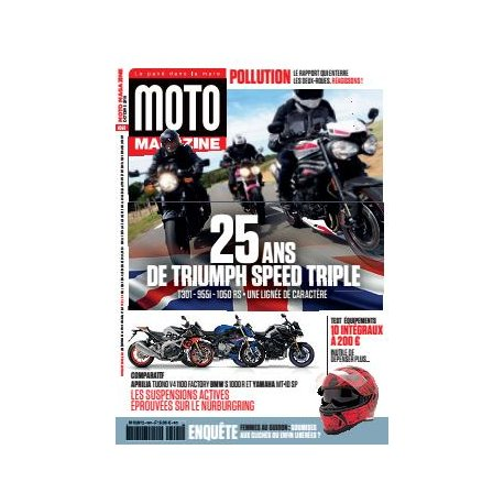 Moto Magazine n° 361 - Octobre 2019