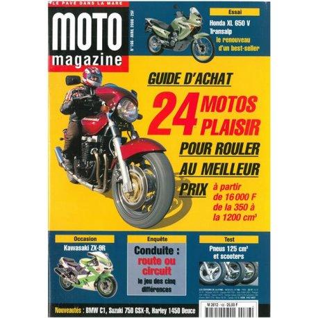 Moto Magazine n° 166 - avril 2000