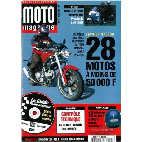 Moto Magazine n° 176 - avril 2001