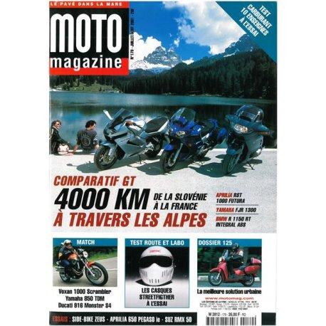 Moto Magazine n° 179 - juillet août 2001