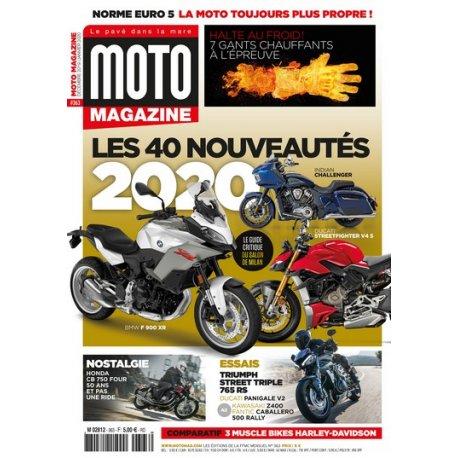 Moto Magazine n° 363 - Décembre 2019