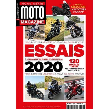 Moto Magazine : Hors-série Essais 2020