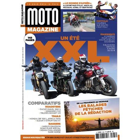Moto Magazine n° 368 - Juillet-août 2020