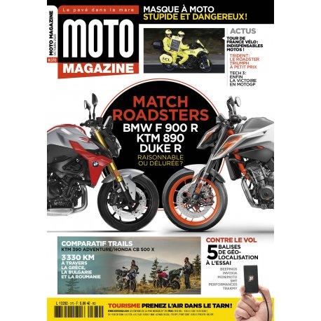 Moto Magazine n° 370 - Octobre 2020