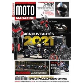 Moto Magazine n° 372 - Décembre 2020 / Janvier 2021