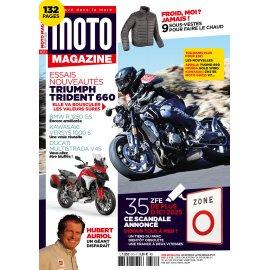 Moto Magazine n° 373 - Février 2021