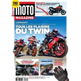 Moto Magazine n° 374 - Mars 2021
