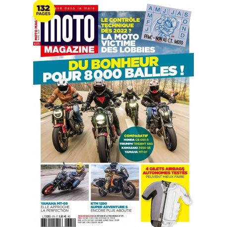 Moto Magazine n° 375 - Avril 2021