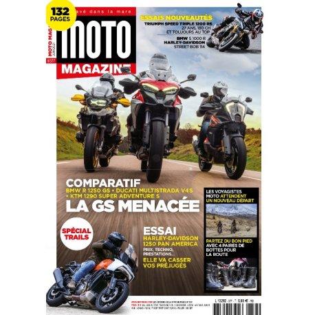 Moto Magazine n° 377 - Juin 2021