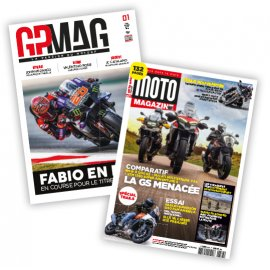 Abonnement GP Mag et Moto Magazine Premium