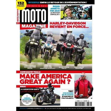 Moto Magazine n° 379 - septembre 2021