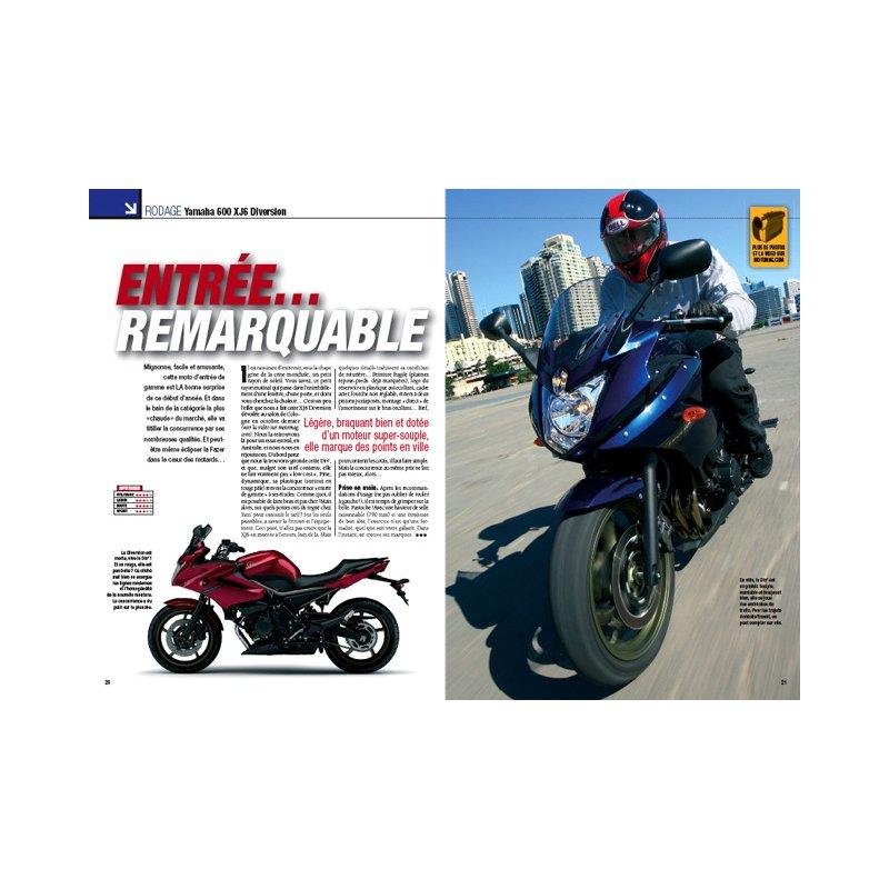 254 Magazine Vente Triumph Bonneville 900 Moto Février 2009 fHq4On